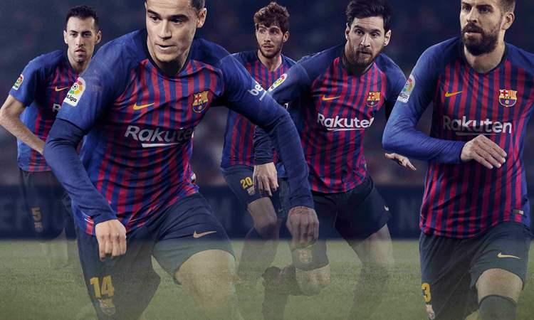 FC Barcelona Thuisshirt 2018-2019 Messi