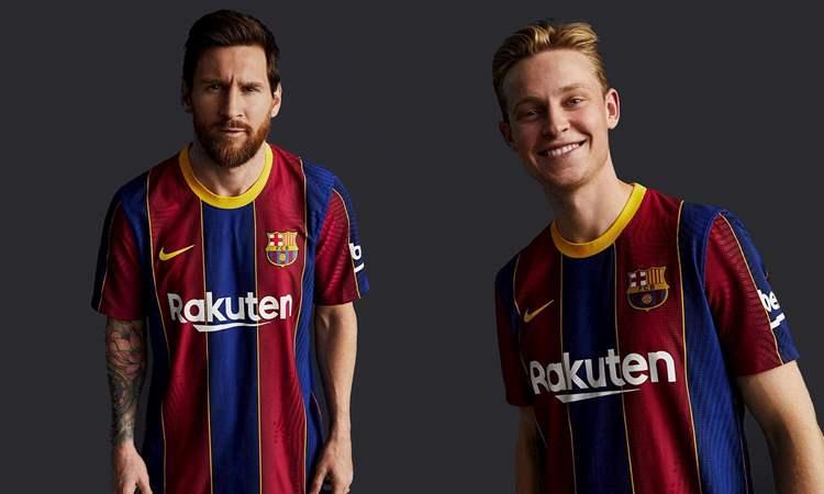 Barcelona Thuisshirt 2020-2021