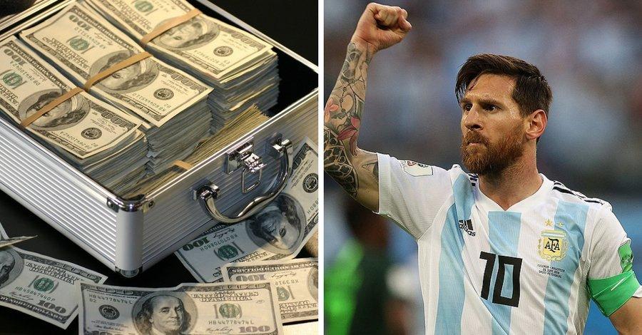 Hoeveel verdient Messi