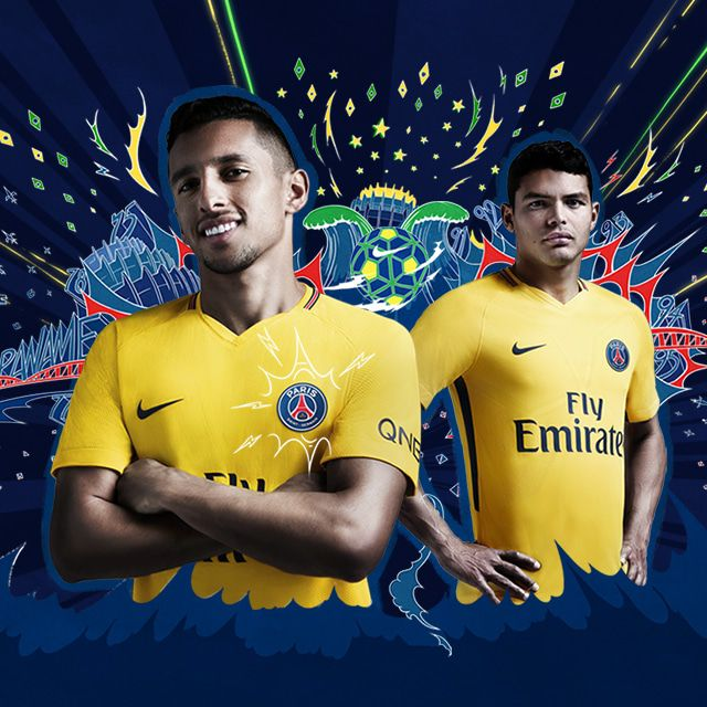 Paris Saint-Germain uitshirt 2017-2018