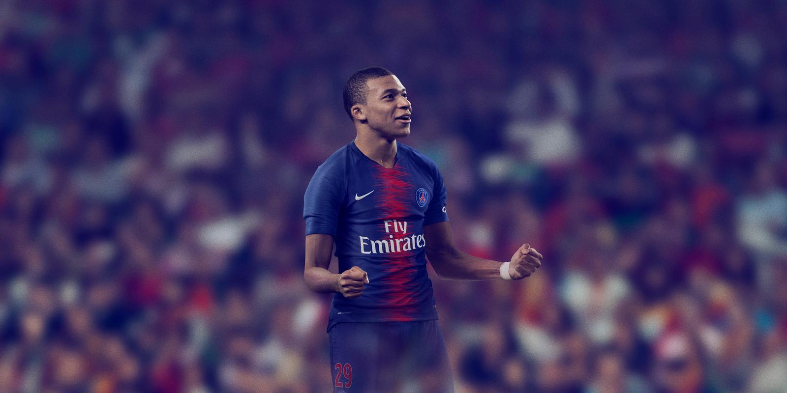 PSG Thuisshirt 2018-2019 Mbappé