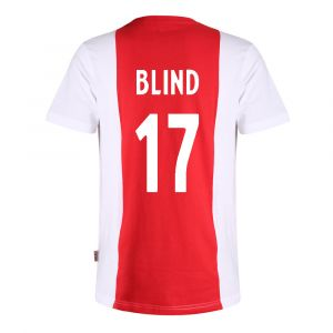 T-shirt Ajax Logo Blind Katoen Kids - Senior