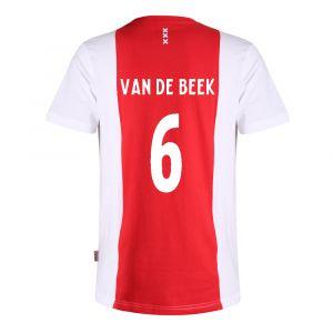 Ajax T-shirt Van de Beek Katoen Kids - Senior