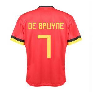 Belgie Voetbalshirt De Bruyne Thuis 2020-2021 Kids - Senior