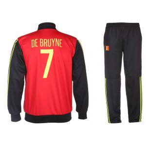 Belgie Trainingspak De Bruyne Thuis