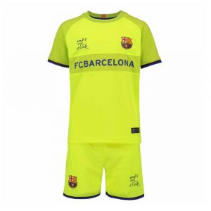 FC Barcelona Voetbaltenue Uit Eigen Naam 2018-2019 Kids
