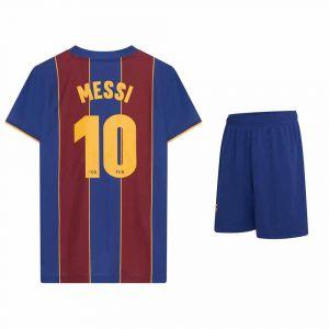 FC Barcelona Voetbaltenue Messi Thuis 2020-2021 Kids