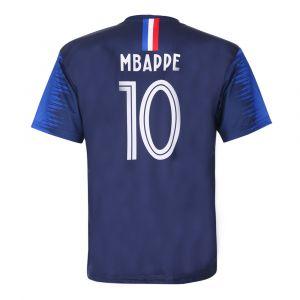 Frankrijk Voetbalshirt Mbappé Thuis 2018-2020 Kids/Senior