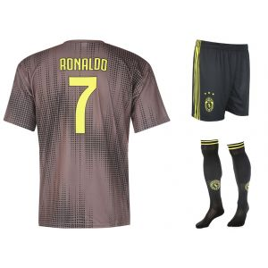Juventus Voetbaltenue Ronaldo Uit Kids-Senior