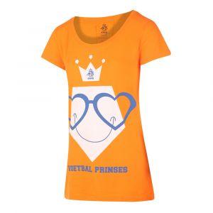 KNVB - Nederlands Elftal T-shirt Dames Voetbal Prinses Eigen Naam