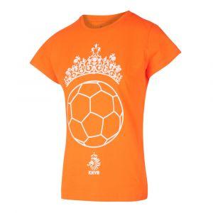 KNVB - Nederlands Elftal T-shirt Meisjes - Tiara Bal - Eigen Naam - Oranje