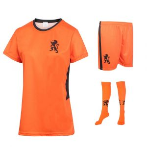 Nederlands Elftal Dames Voetbaltenue Thuis Eigen Naam - Leeuwinnen - Oranje - Kids - Senior - EK 2020-2021