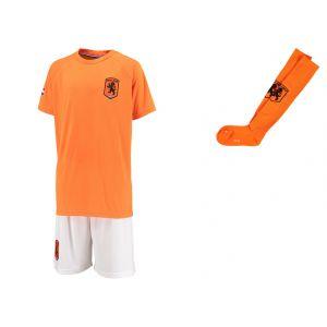 Nederlands Elftal Voetbaltenue Eigen Naam - Oranje - Kids