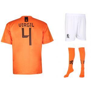 Nederlands Elftal Voetbaltenue Virgil van Dijk Thuis 2018-2020 Kids-Senior