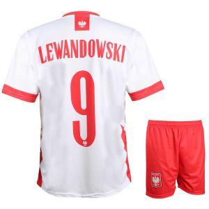 Polen Voetbaltenue Lewandowski 2020-2022 Kids - Senior