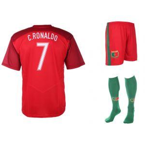 Portugal Voetbaltenue Ronaldo Thuis 2020-2021