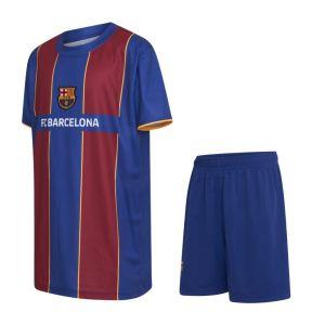 FC Barcelona Voetbaltenue Thuis Eigen Naam 2020-2021 Kids