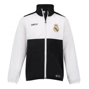 Real Madrid Trainingsjack Thuis Eigen Naam Kids