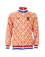 EK 88 Trainingsjack 1988 Eigen Naam - Oranje - Kids - Senior